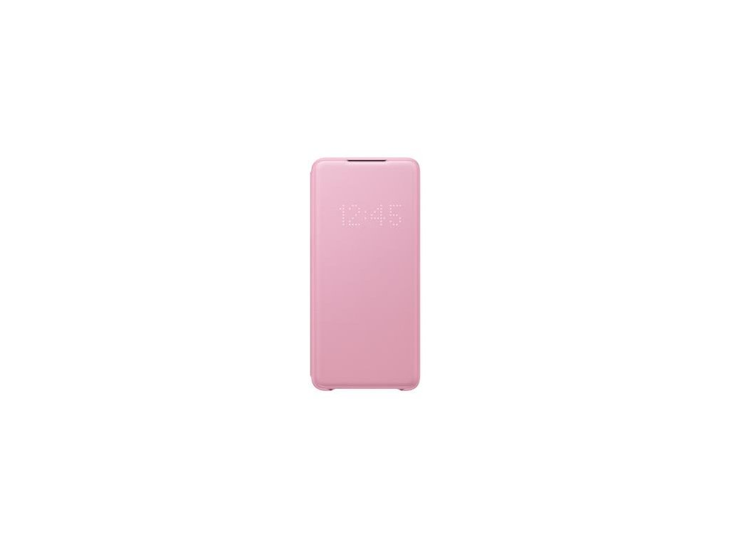 EF-NG985PPE Samsung LED S-View Pouzdro pro Galaxy S20+ Pink