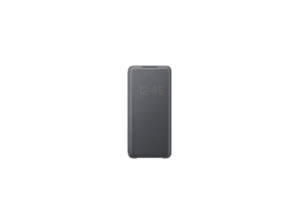 EF-NG988PJE Samsung LED S-View Pouzdro pro Galaxy S20 Ultra Gray