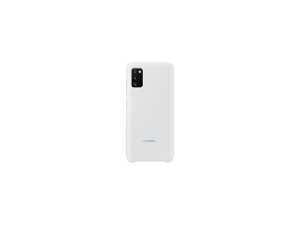 EF-PA415TWE Samsung Silikonový Kryt pro Galaxy A41 White (Pošk. Balení)