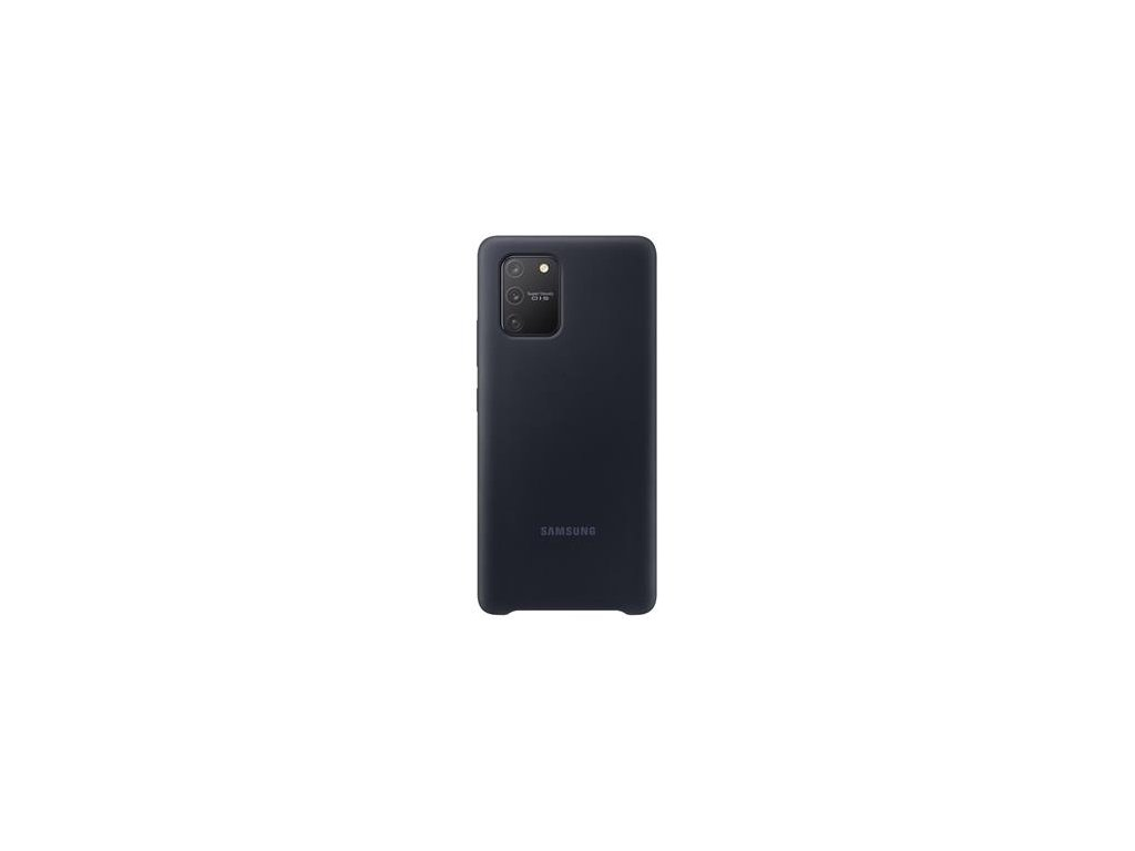 EF-PG770TBE Samsung Silikonový Kryt pro Galaxy S10 Lite Black