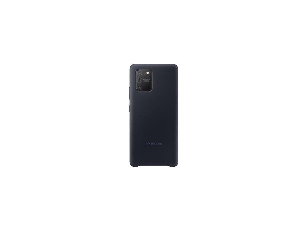 EF-PG770TBE Samsung Silikonový Kryt pro Galaxy S10 Lite Black (Pošk. Balení)
