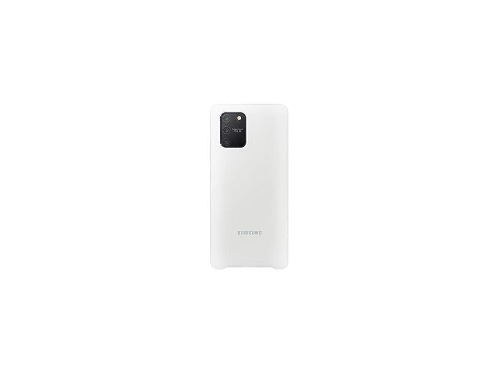 EF-PG770TWE Samsung Silikonový Kryt pro Galaxy S10 Lite White