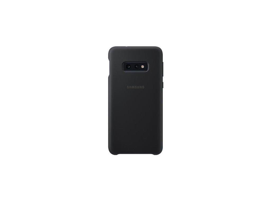 EF-PG970TBE Samsung Silicone Cover Black pro G970 Galaxy S10e (Pošk. Balení)