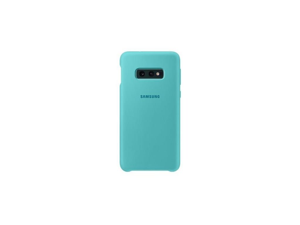EF-PG970TGE Samsung Silicone Cover Green pro G970 Galaxy S10e (Pošk. Balení)