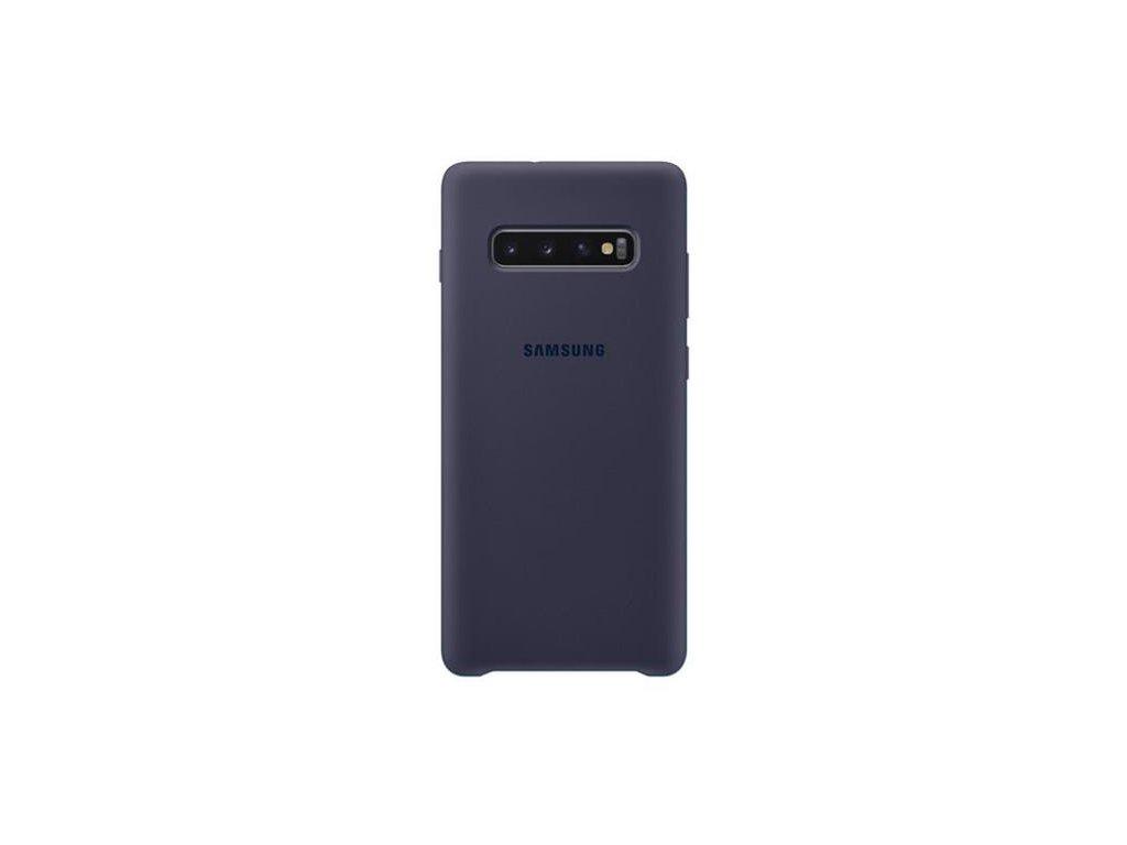 EF-PG975TNE Samsung Silicone Cover Navy pro G975 Galaxy S10 Plus