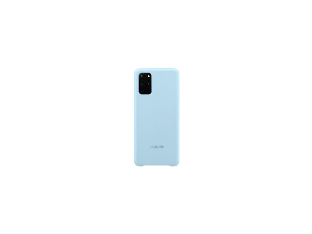 EF-PG985TLE Samsung Silikonový Kryt pro Galaxy S20+ Blue