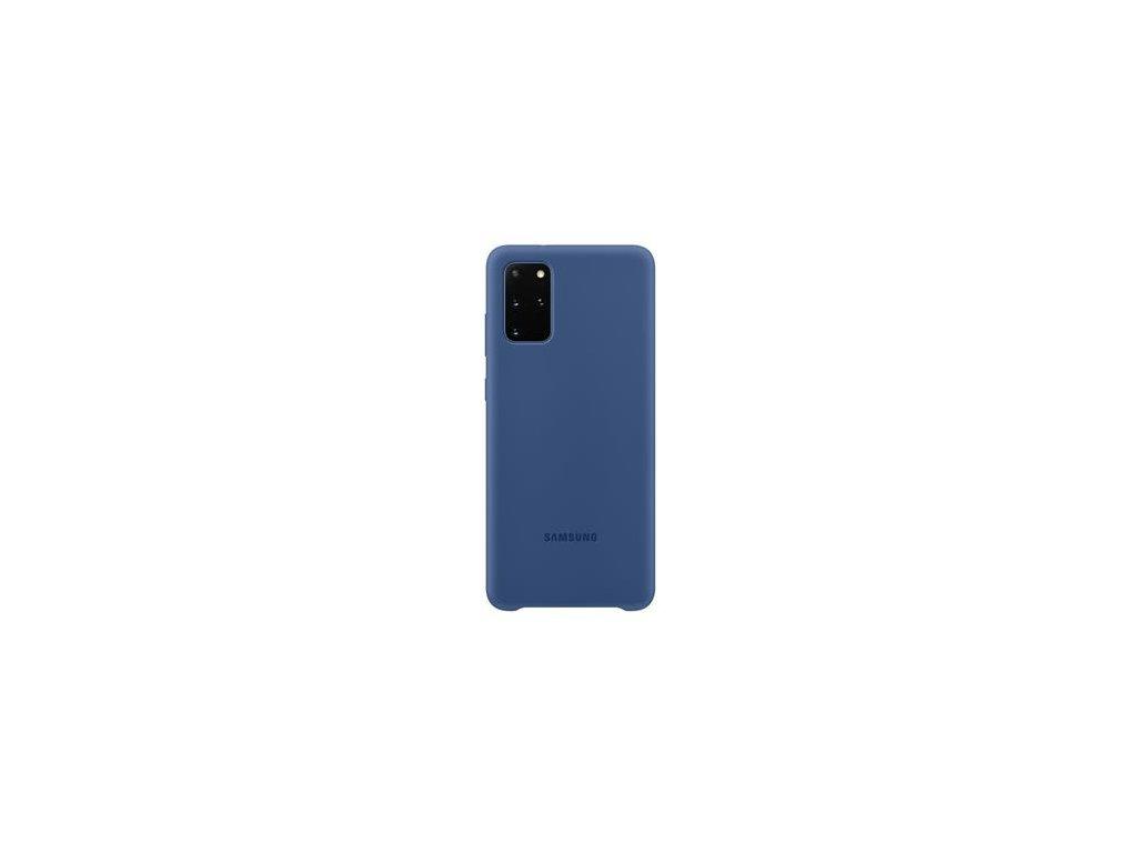 EF-PG985TNE Samsung Silikonový Kryt pro Galaxy S20+ Navy