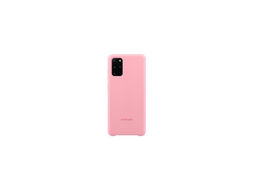 EF-PG985TPE Samsung Silikonový Kryt pro Galaxy S20+ Pink
