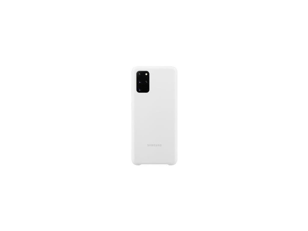 EF-PG985TWE Samsung Silikonový Kryt pro Galaxy S20+ White
