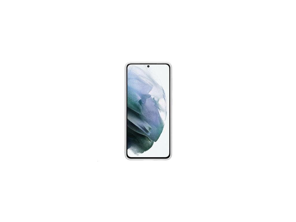 EF-PG991TJE Samsung Silikonový Kryt pro Galaxy S21 Light Gray