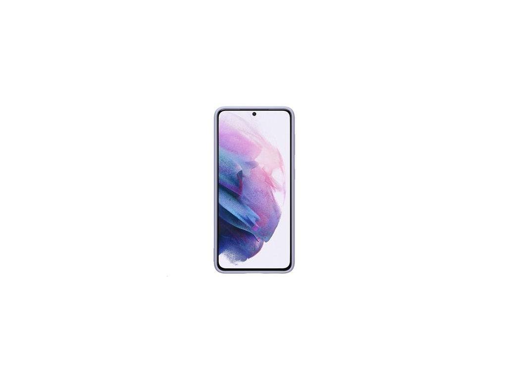 EF-PG991TVE Samsung Silikonový Kryt pro Galaxy S21 Violet