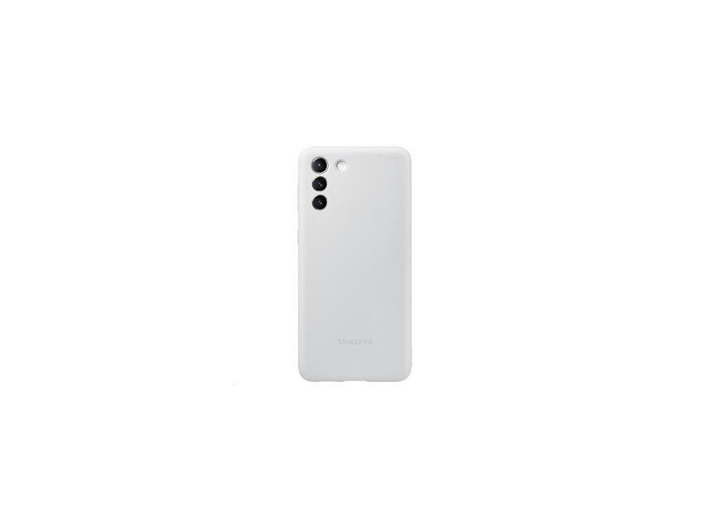 EF-PG996TJE Samsung Silikonový Kryt pro Galaxy S21+ Light Gray
