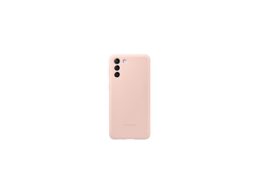 EF-PG996TPE Samsung Silikonový Kryt pro Galaxy S21+ Pink