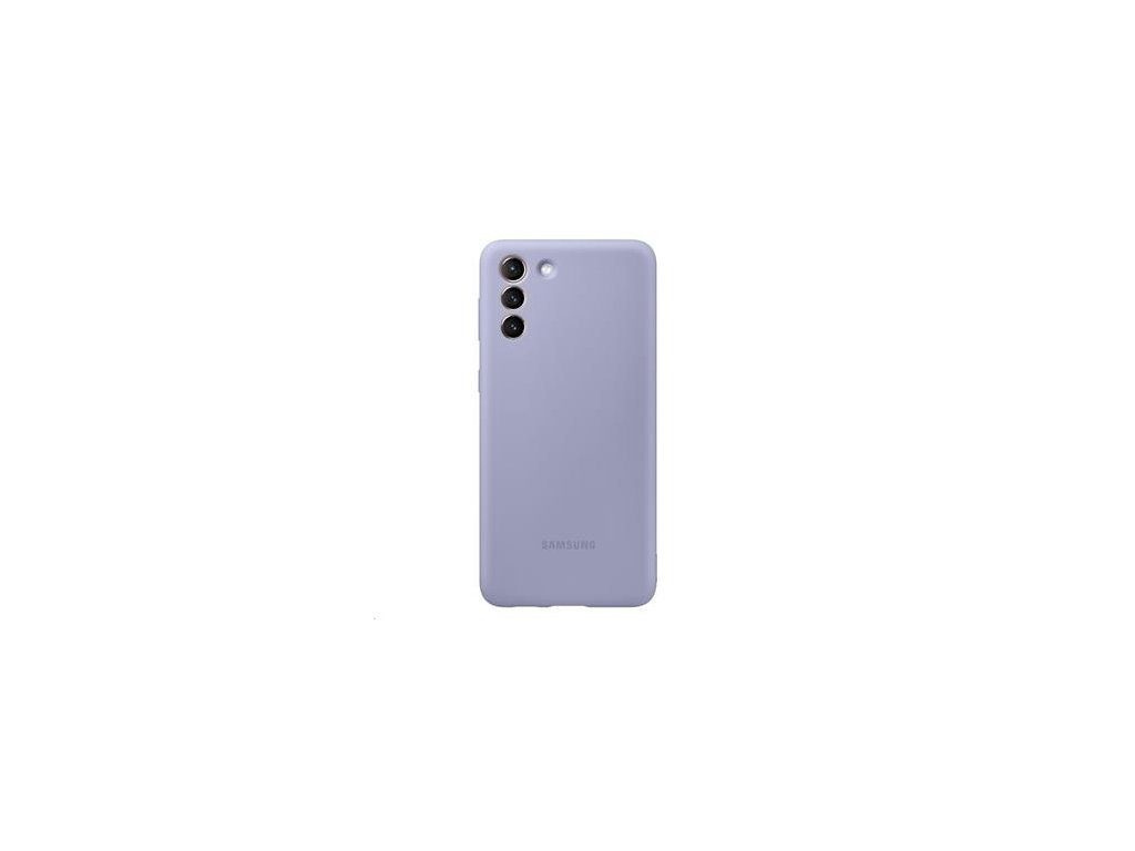 EF-PG996TVE Samsung Silikonový Kryt pro Galaxy S21+ Violet