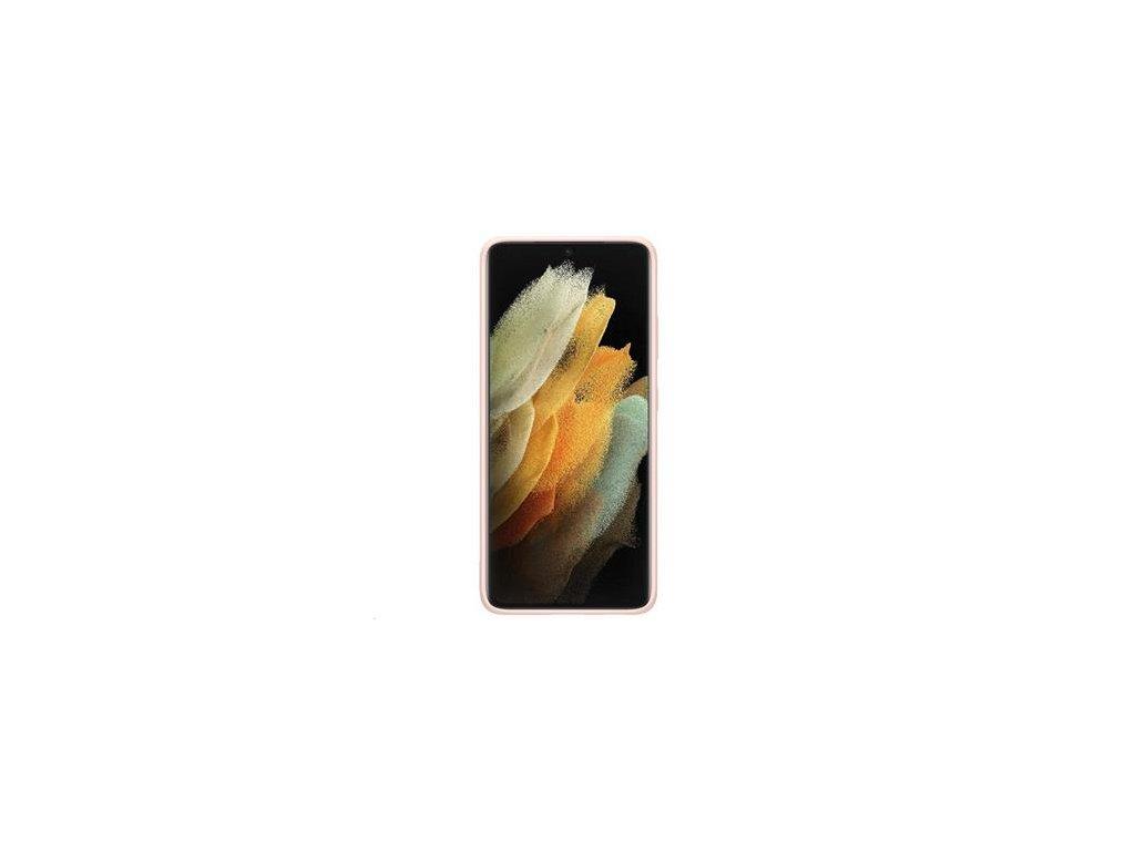 EF-PG998TPE Samsung Silikonový Kryt pro Galaxy S21 Ultra Pink