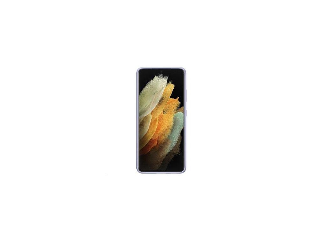 EF-PG998TVE Samsung Silikonový Kryt pro Galaxy S21 Ultra Violet