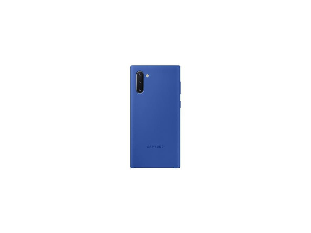 EF-PN970TLE Samsung Silikonový Kryt pro N970 Galaxy Note 10 Blue