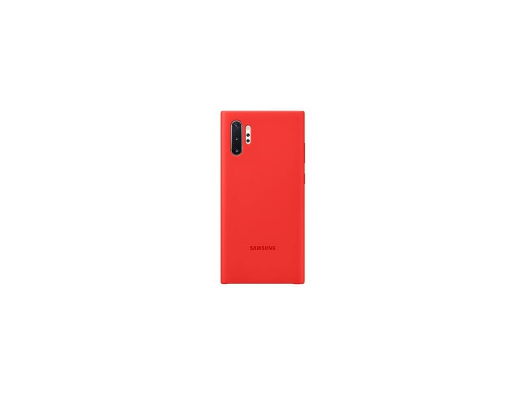 EF-PN975TRE Samsung Silikonový Kryt pro N975 Galaxy Note 10+ Red