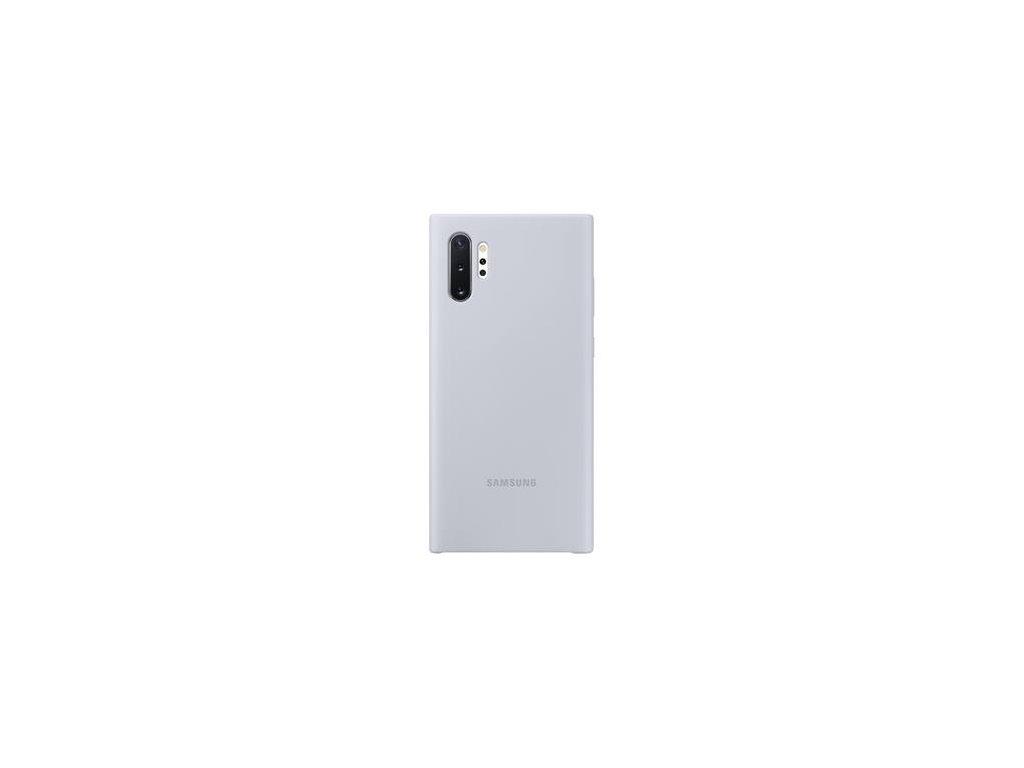 EF-PN975TSE Samsung Silikonový Kryt pro N975 Galaxy Note 10+ Silver