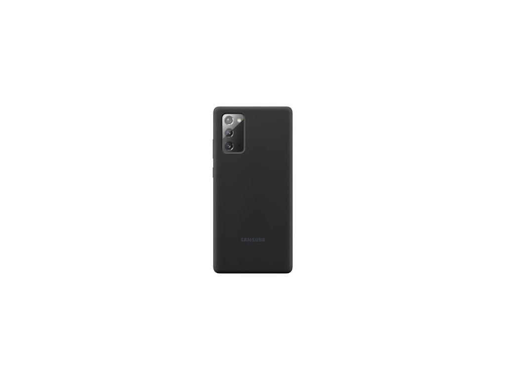 EF-PN980TBE Samsung Silikonový Kryt pro N980 Galaxy Note 20 Black