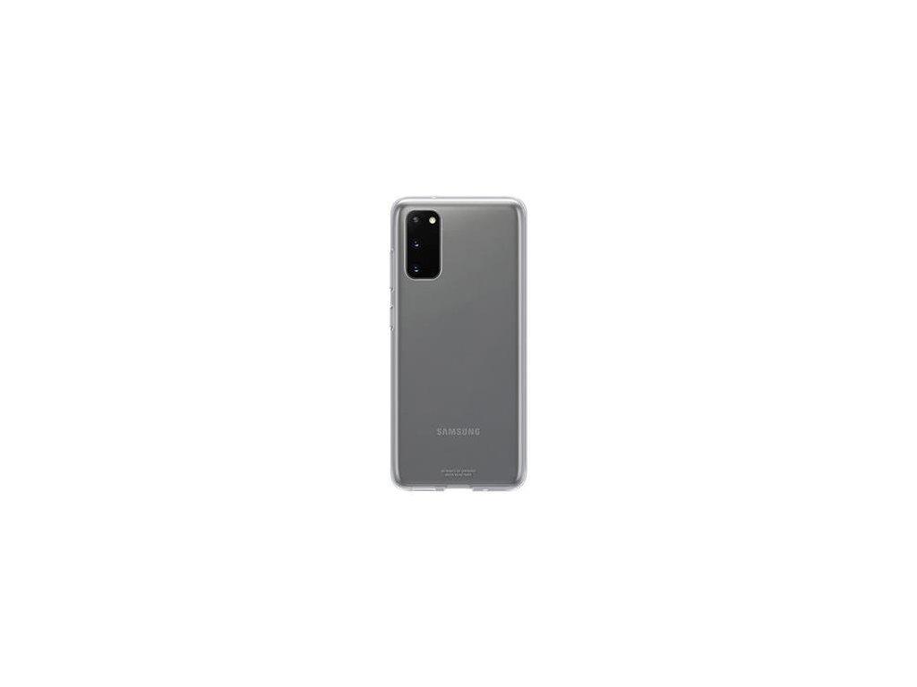 EF-QG980TTE Samsung Clear Kryt pro Galaxy S20 Transparent (Pošk. Balení)