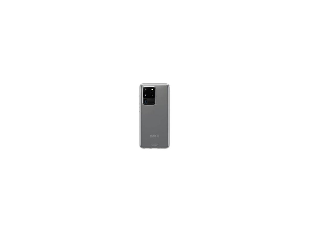 EF-QG988TTE Samsung Clear Kryt pro Galaxy S20 Ultra Transparent