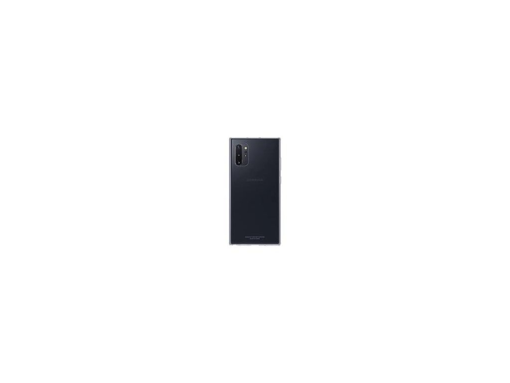 EF-QN975TTE Samsung Silikonový Kryt Transparent pro N975 Galaxy Note 10+ (Pošk. Balení)