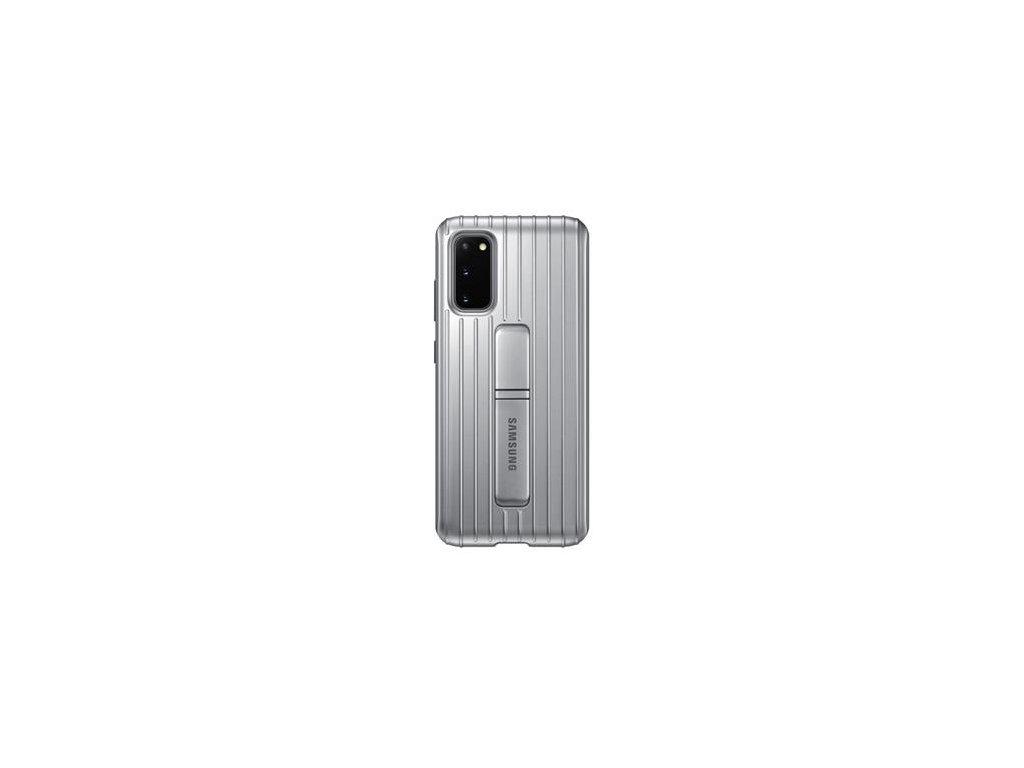 EF-RG980CSE Samsung Standing Kryt pro Galaxy S20 Silver (Pošk. Balení)