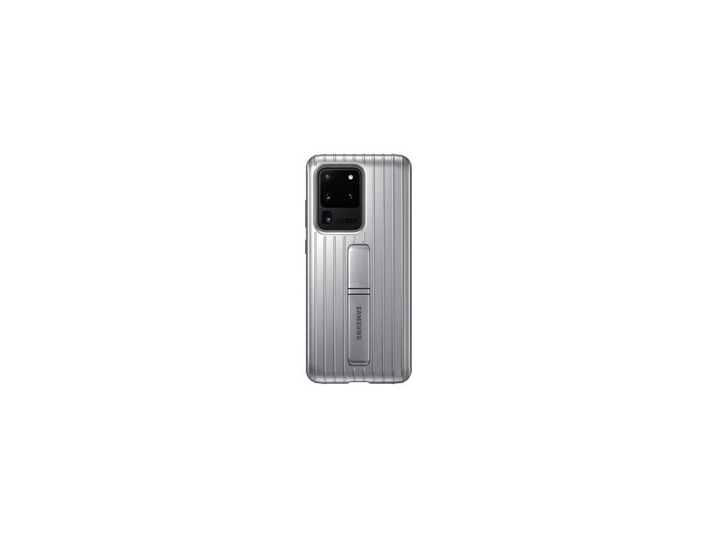EF-RG988CSE Samsung Standing Kryt pro Galaxy S20 Ultra Silver