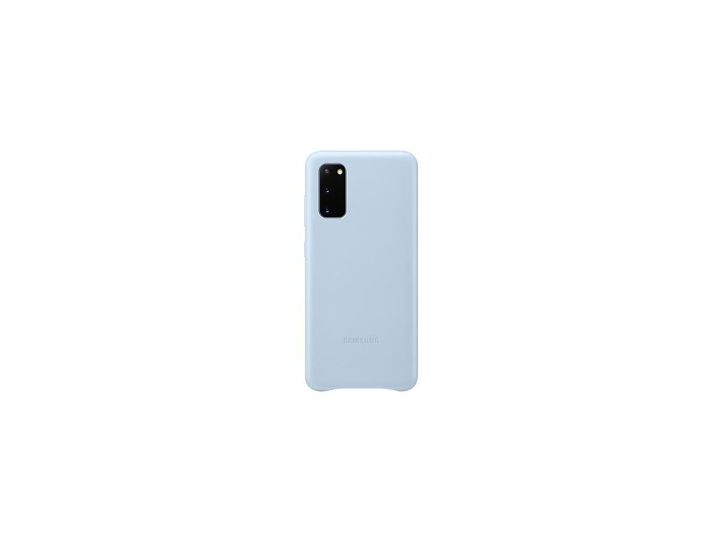 EF-VG980LLE Samsung Kožený Kryt pro Galaxy S20 Blue