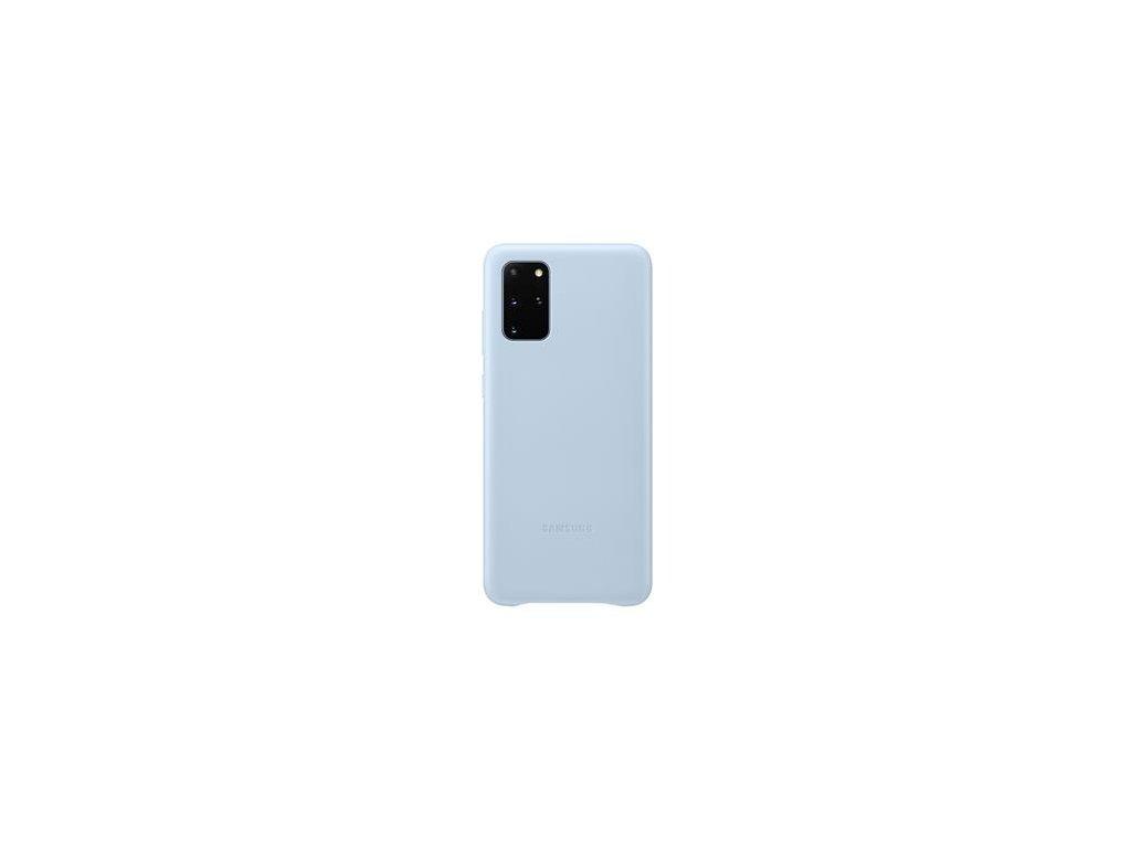 EF-VG985LLE Samsung Kožený Kryt pro Galaxy S20+ Blue