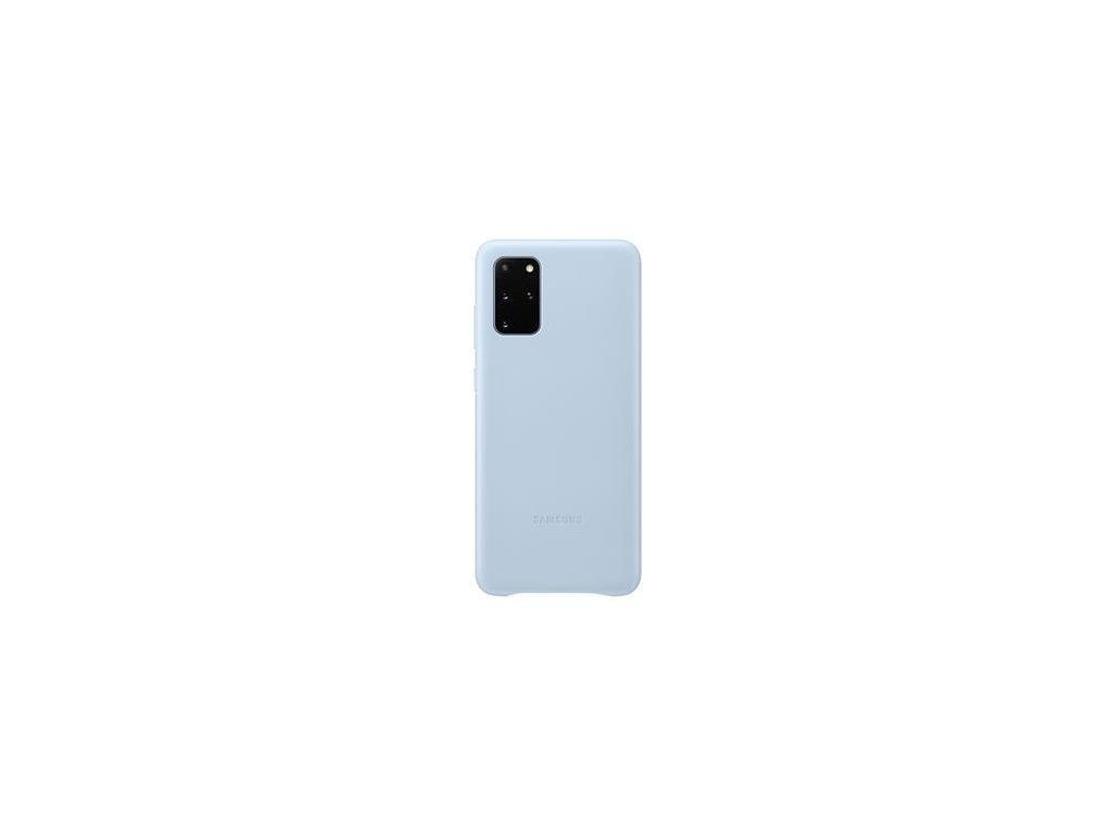 EF-VG985LLE Samsung Kožený Kryt pro Galaxy S20+ Blue (Pošk. Balení)