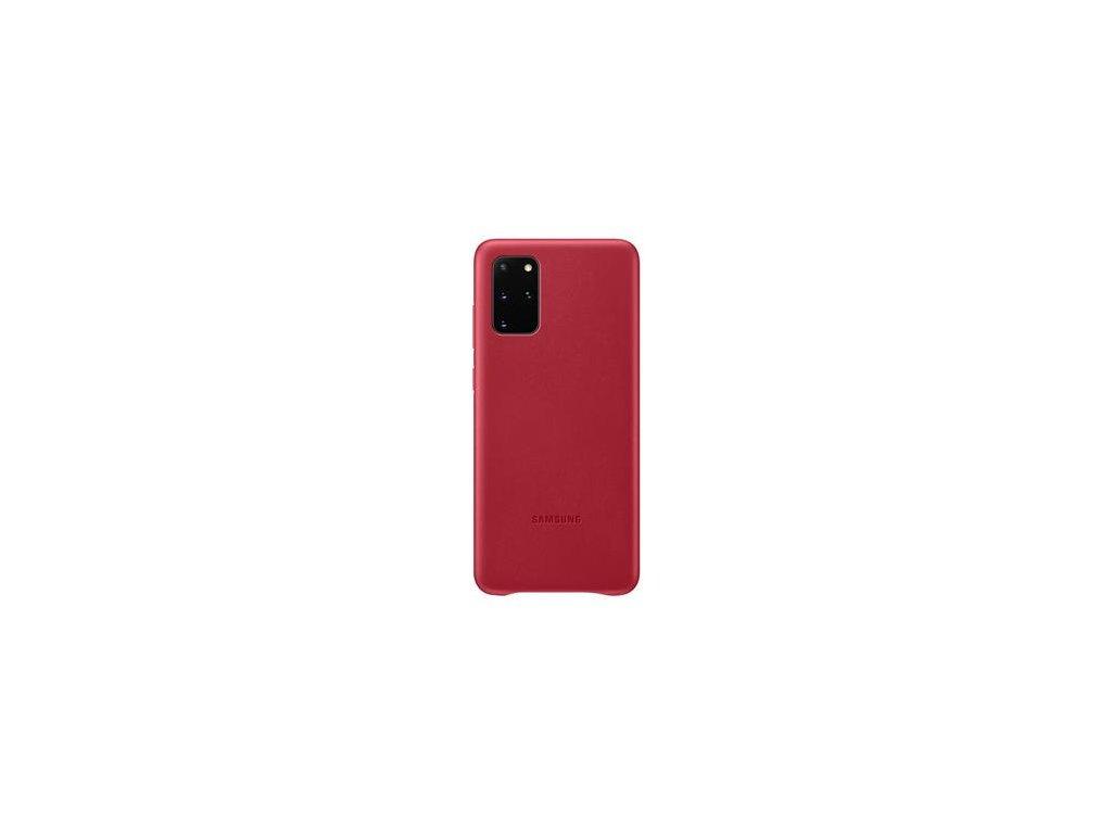 EF-VG985LRE Samsung Kožený Kryt pro Galaxy S20+ Red