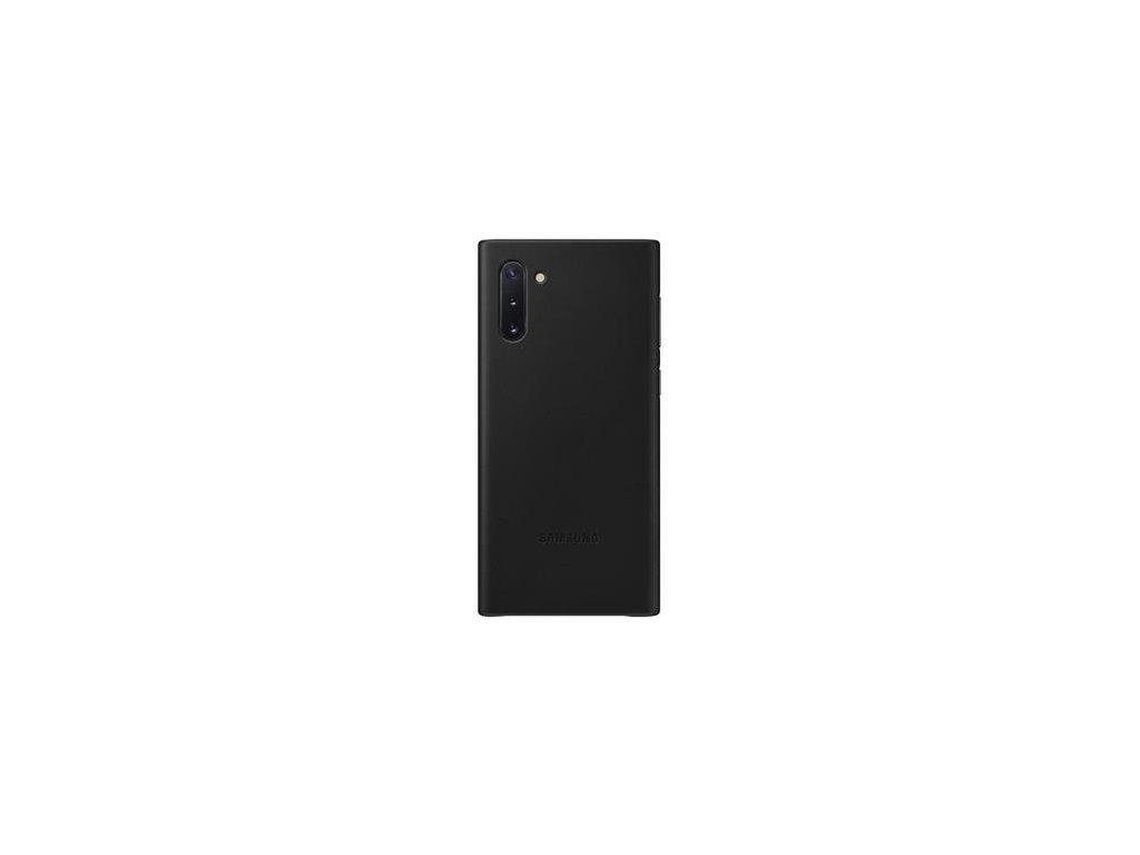 EF-VN970LBE Samsung Kožený Kryt pro N970 Galaxy Note 10 Black (Pošk. Balení)