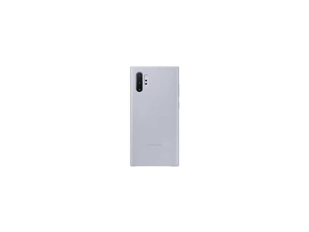 EF-VN975LJE Samsung Kožený Kryt pro N975 Galaxy Note 10+ Grey