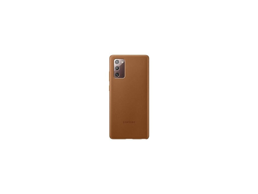 EF-VN980LAE Samsung Leather Cover pro N980 Galaxy Note 20 Brown