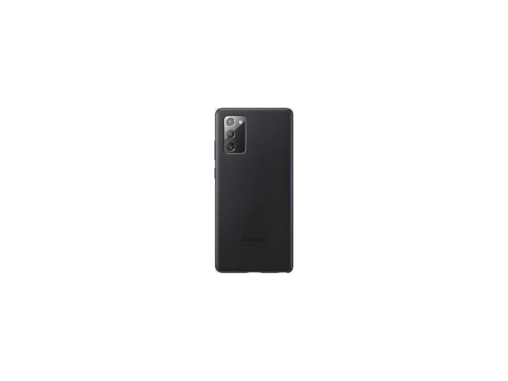 EF-VN980LBE Samsung Leather Cover pro N980 Galaxy Note 20 Black (Pošk. Balení)