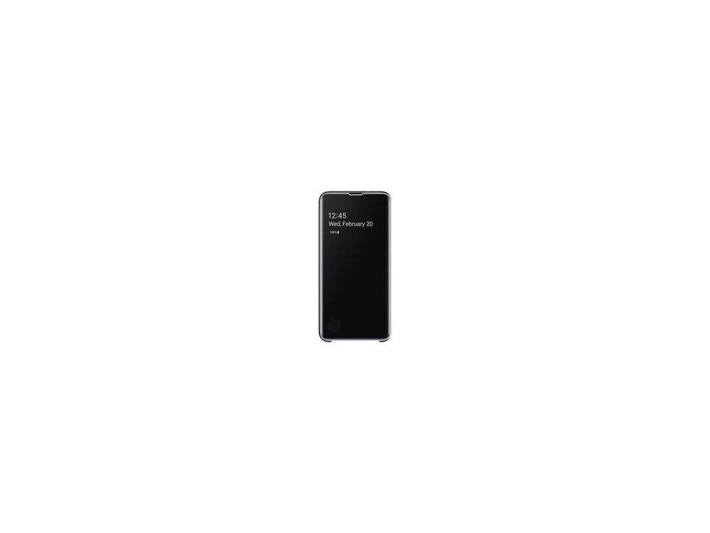 EF-ZG970CBE Samsung Clear View Cover Black pro G970 Galaxy S10e (Pošk. Balení)