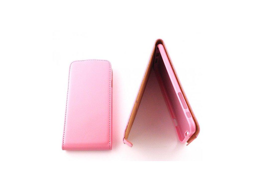FLEXI flip pouzdro růžové pro iphone 6