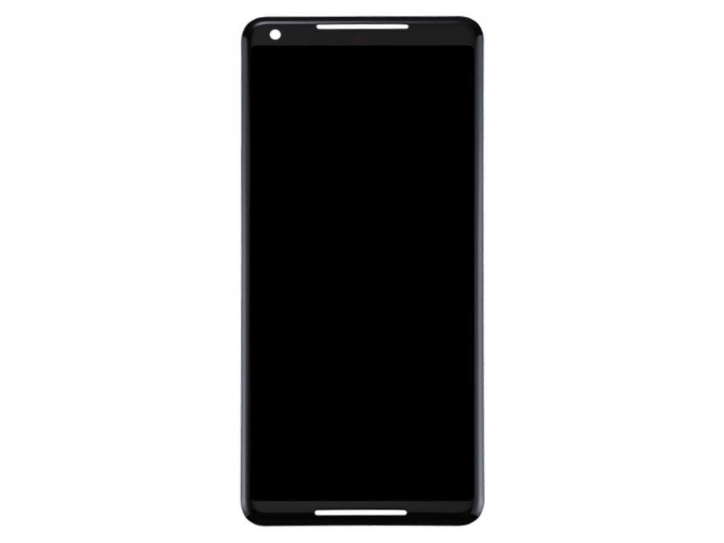 Google Pixel 2 XL LCD displej dotykové sklo černé komplet přední panel amoled