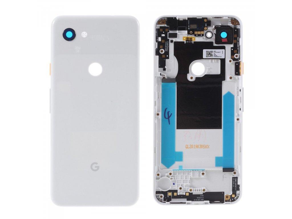 Google Pixel 3A zadní kryt baterie bílý G020A G020E G020B