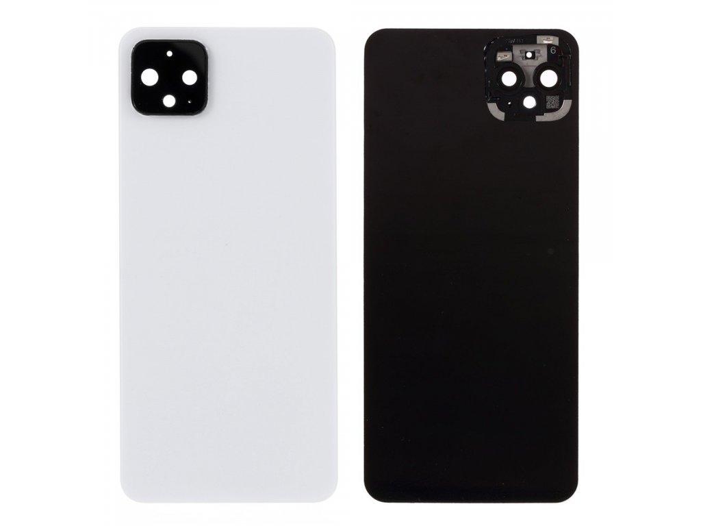 Google Pixel 4 XL zadní kryt baterie bílý včetně krytky čočky fotoaparátu