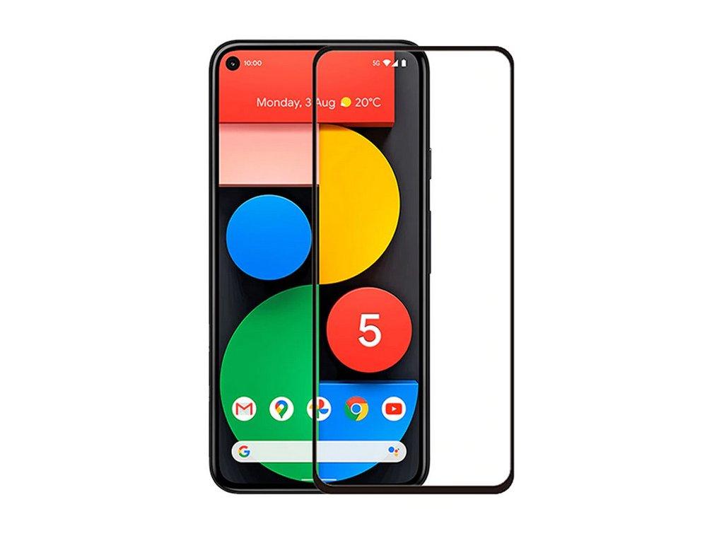 Google Pixel 5 5D tvrzené sklo
