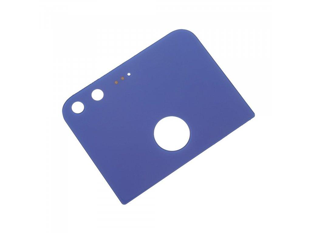 Google Pixel zadní horní skleněná krytka modrá S1