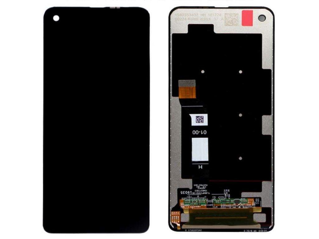Motorola One Vision LCD displej dotykové sklo komplet černý