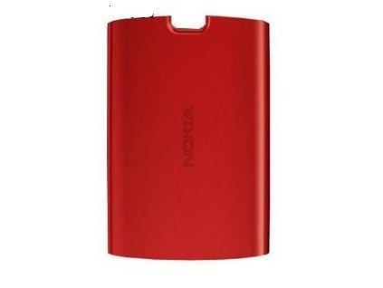 Nokia 5250 kryt baterie červený