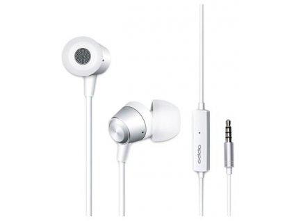 OPPO MH130 In Ear Stereo Headset 3,5mm White (Bulk)