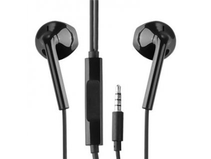 S928C88414 Motorola Stereo Headset 3,5mm Black (Service Pack)