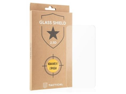 Tactical Glass Shield 2.5D sklo pro Xiaomi Redmi Note 9T Clear