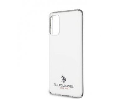 USHCS62TPUWH U.S. Polo Small Horse Kryt pro Samsung Galaxy S20 White